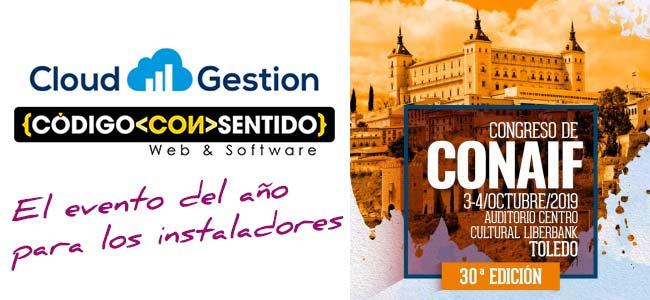 CONAIF 2019 en Toledo, para Instaladores