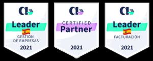 Cloud Gestion ERP, empresa Certified Partner, Leader de Facturación y Gestión de Empresas 2021 de AppVizer en España