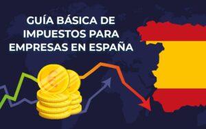 Guía básica de impuestos para empresas en España