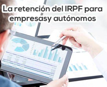La retención del IRPF para empresas y autónomos Cloud Gestion